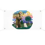 St Fran. (ff) - White Persian Banner