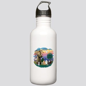 St Francis (ff)-7 Cats Stainless Water Bottle 1.0L