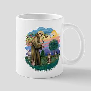 St Fran (ff) - Brown Tabby Cat Mug