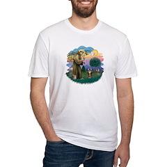 St Fran (ff) - Brown Tabby Cat Shirt