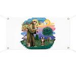 St Fran (ff) - Brown Tabby Cat Banner
