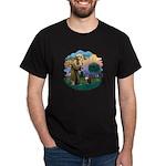 St. Fran (ff) - Maine Coon (#9) Dark T-Shirt