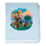 St. Fran (ff) - Maine Coon (#9) Infant Blanket