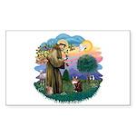 St. Fran (ff) - Maine Coon (#9) Sticker (Rectangle
