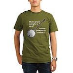 proper tuning Organic Men's T-Shirt (dark)