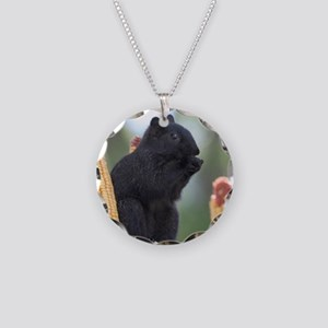 Black squirrel Necklace