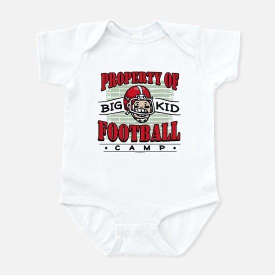 Big Kid Football Red Infant Bodysuit