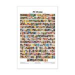 "11"" X 17"" Pulp Images Mini Poster Print"