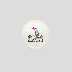 Michigan native Mini Button