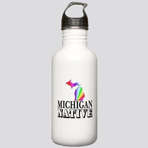 Michigan native Stainless Water Bottle 1.0L