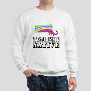 Massachusetts native Sweatshirt