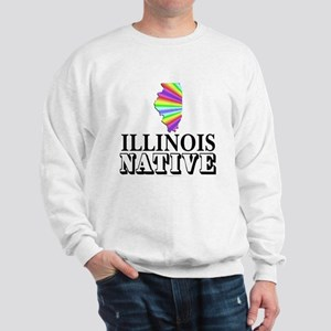 Illinois native Sweatshirt