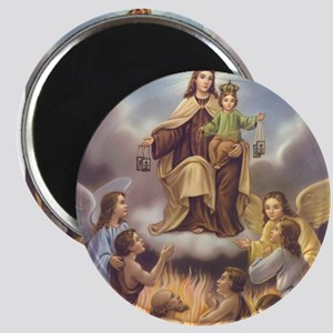 """Our Lady of Mt. Carmel 2.25"""" Magnet (10 pack)"""