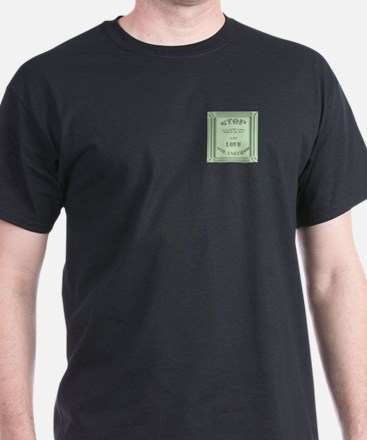 Stop Telling God what to do Black T-Shirt