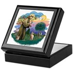 St Francis - Sphynx (fawn) Keepsake Box