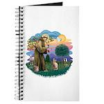 St Francis - Sphynx (fawn) Journal
