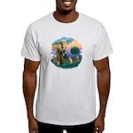 St Francis - Sphynx (fawn) Light T-Shirt