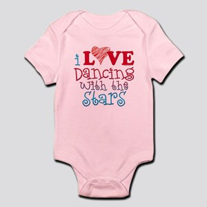 I Love Dancing wtih the Stars Infant Bodysuit