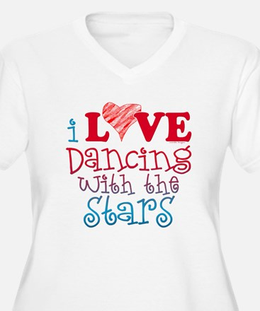 I Love Dancing wtih the Stars T-Shirt