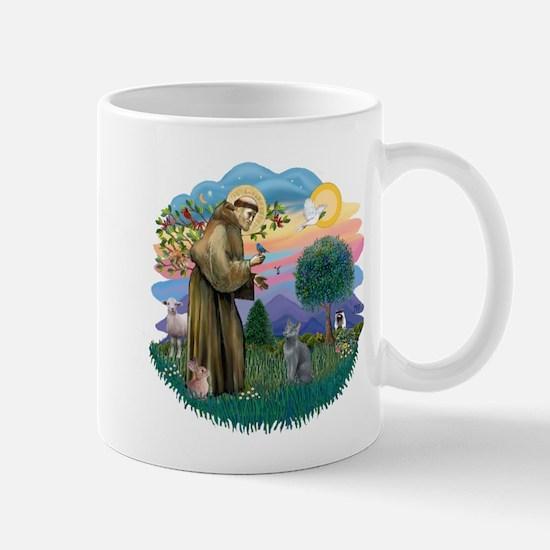 St Fran (ff) - Russian Blue (#2) Mug