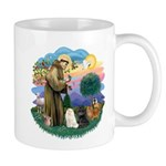 St Fran (ff) - 3 Persian Cats Mug