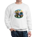 St Fran (ff) - 3 Persian Cats Sweatshirt