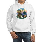 St Fran (ff) - 3 Persian Cats Hooded Sweatshirt