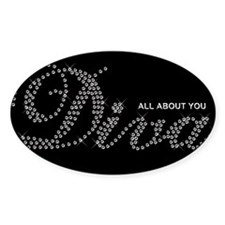 All About You Diva Sticker