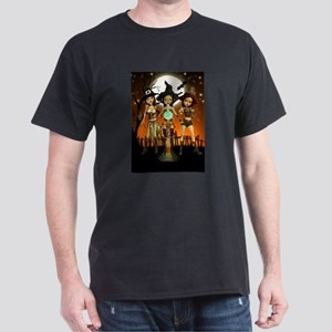 Sisters Three Witch Moon Night T-Shirt