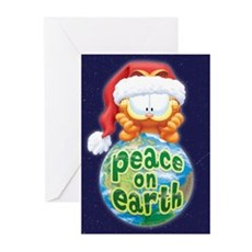 Peace on Earth Garfield Greeting Cards (Pk of 10)
