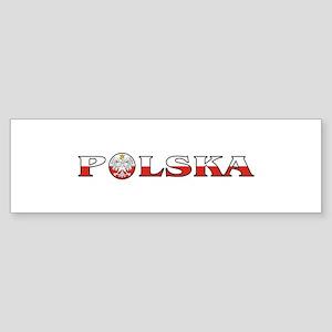 Polska Eagle / Polish Flag Bumper Sticker