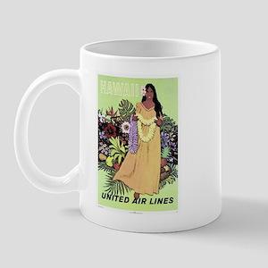 United Airlines 'Hawaii' Mug
