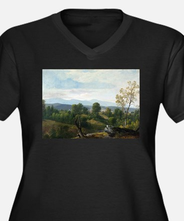 Asher Brown Durand A View of the Plus Size T-Shirt