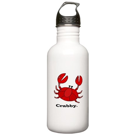Crabby Stainless Water Bottle 1.0L