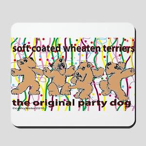 Party Wheaten Mousepad