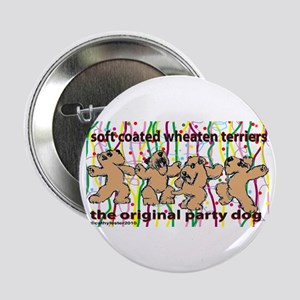 "Party Wheaten 2.25"" Button"