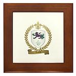 AYOTTE Family Crest Framed Tile