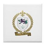 AYOTTE Family Crest Tile Coaster