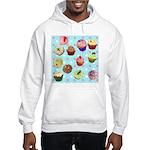 Polka Dot Cupcakes Hooded Sweatshirt