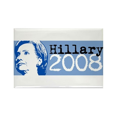Hillary Clinton 2008 Rectangle Magnet