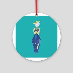 Ms.Moony Ornament (Round)