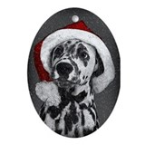 Dalmatian Oval Ornaments