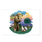 St Fran (ff) - 3 Siamese Postcards (Package of 8)