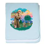 St Fran (f)-Norw. Forest Infant Blanket