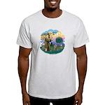 St Fran (f)-Norw. Forest Light T-Shirt