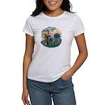 St Fran (f)-Norw. Forest Women's T-Shirt