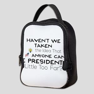 Haven't We Taken the Idea That Neoprene Lunch Bag