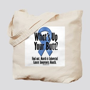 Colorectal Cancer Awareness Tote Bag