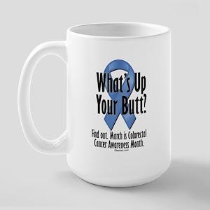 Colorectal Cancer Awareness Large Mug