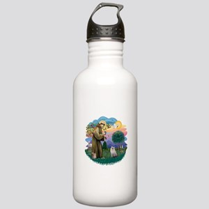 StFran(f)-Ragdoll (bl-cr) Stainless Water Bottle 1